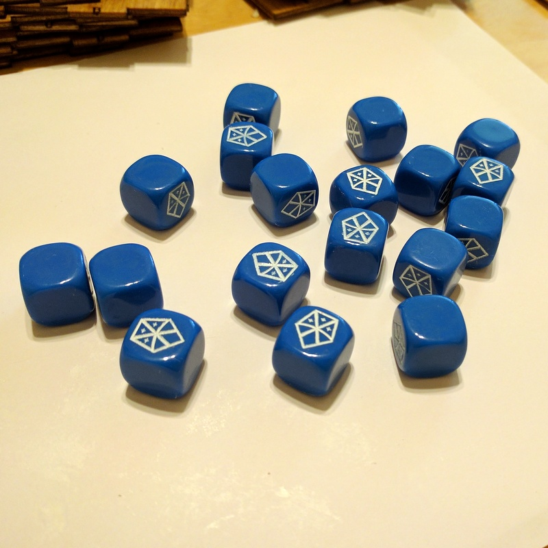 Custom Dice Compatible With Xcom The Board Game Lyris